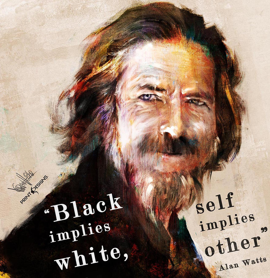 Alan Watts Tribute by mickehill