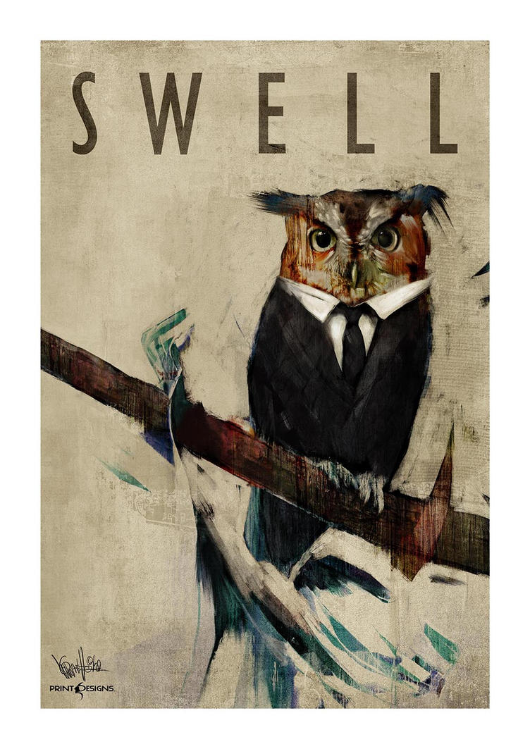 Swell Art Print by mickehill