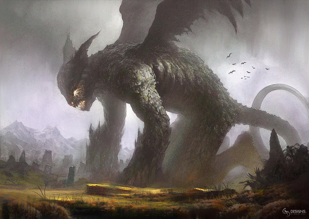 Rising Demon by mickehill