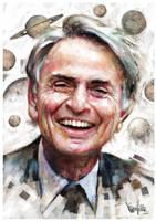Carl Sagan #1 by mickehill