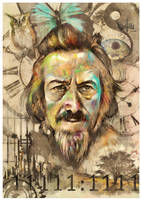 Alan Watts Tribute #4 by mickehill