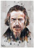 Alan Watts Tribute #5 (no-text) by mickehill