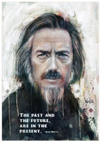 Alan Watts Tribute #7 by mickehill