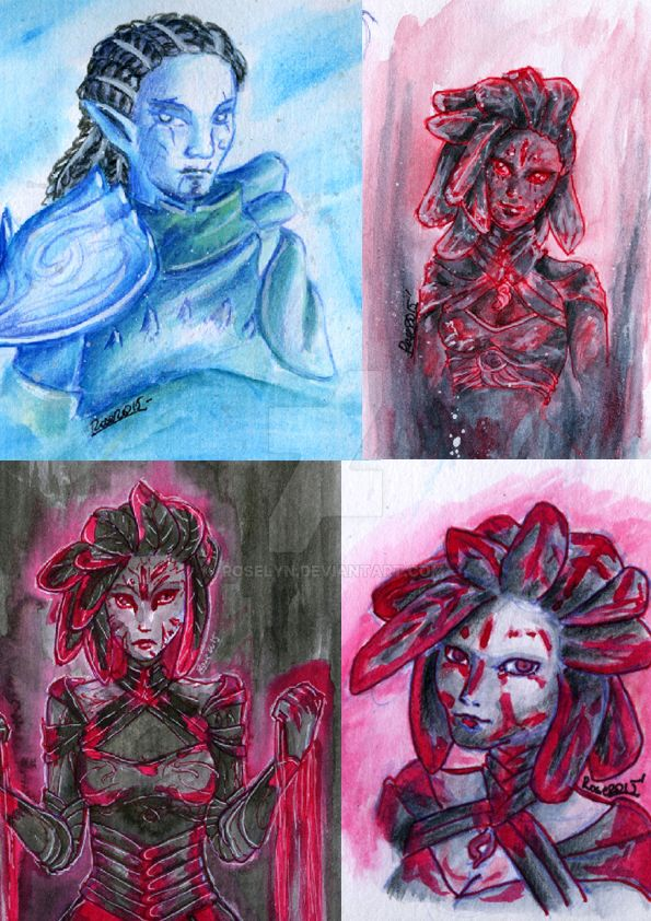 Sylvari Arts Compilation by Roselyn
