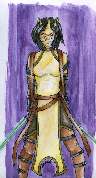 Jedi Knight Tali by Roselyn