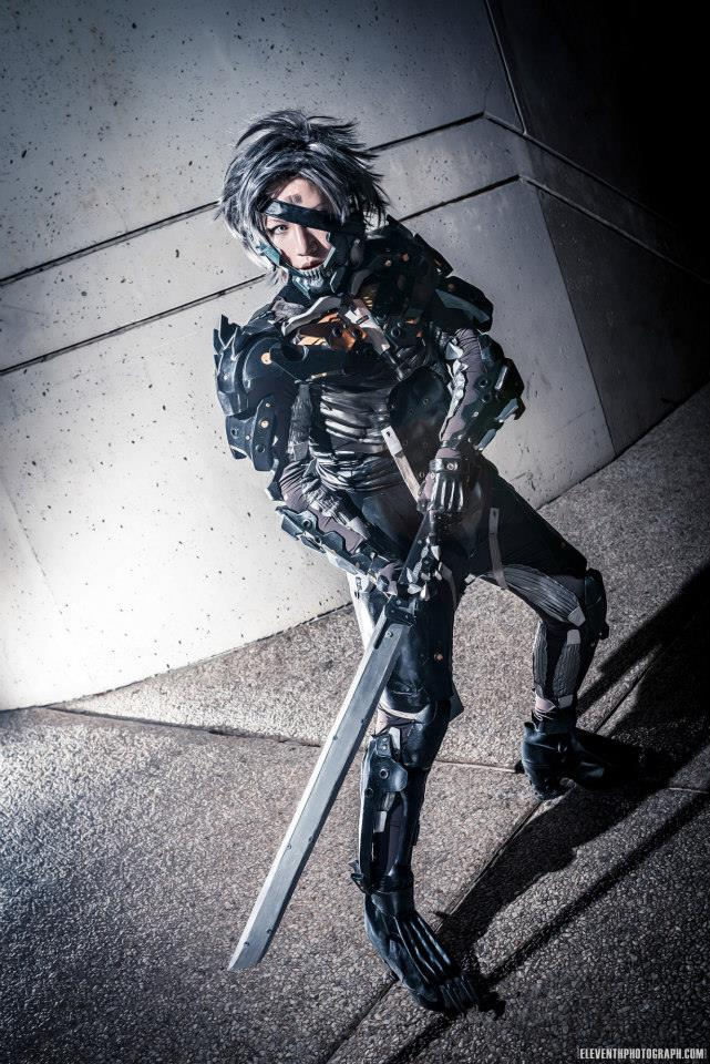 Raiden Cosplay at Otakon! Dusk Photoshoot by ProVoltageCosplay