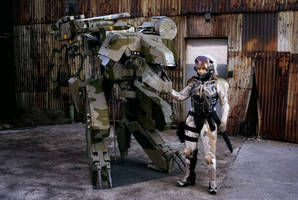 Mgs4 Raiden And Rex Brooklyn 2014 by ProVoltageCosplay