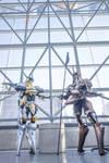 Anubis and Jehuty NYCC 2015