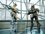 Jehuty and Anubis cosplay at NYCC2015