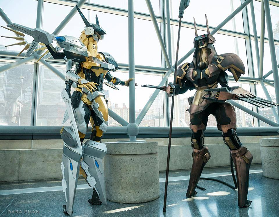 Jehuty and Anubis cosplay at NYCC2015 by ProVoltageCosplay