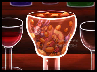 Glass of Beans