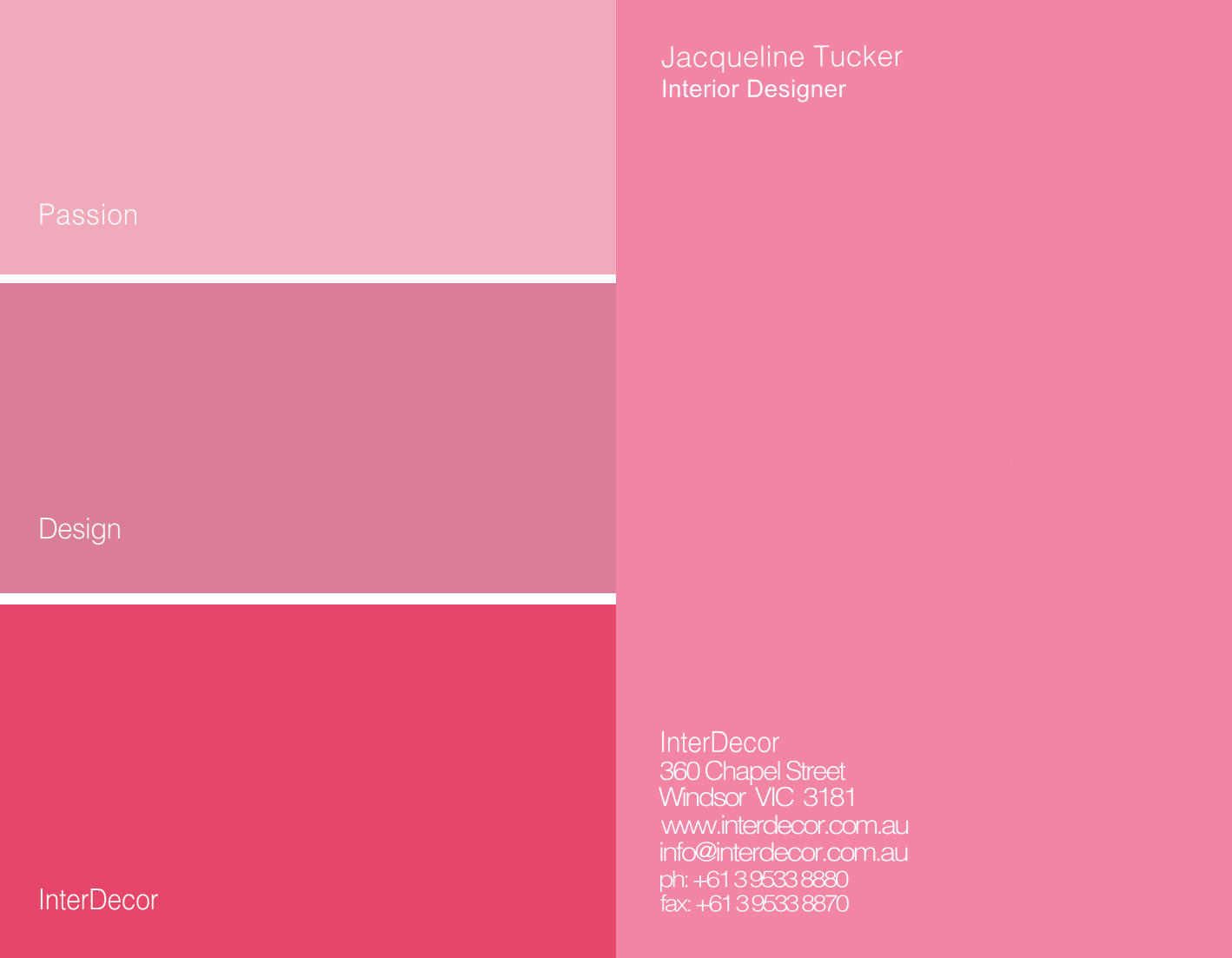 Pink business card slim image pink business cards colourmoves