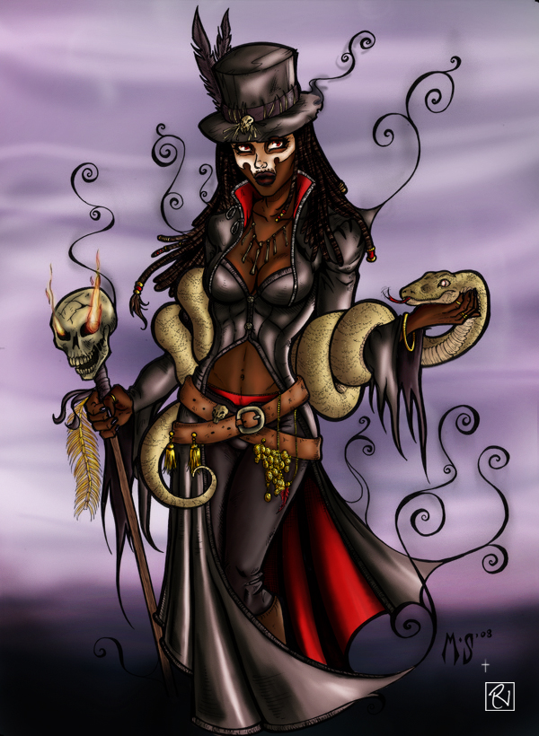 Voodoo Queen by AudreyBenjaminsen on DeviantArt |Voodoo Queen Art