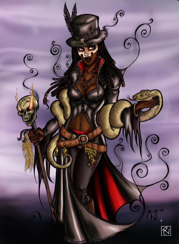 Voodoo Queen by RoCueto