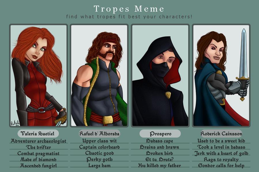 Tv Tropes Meme by RoCueto