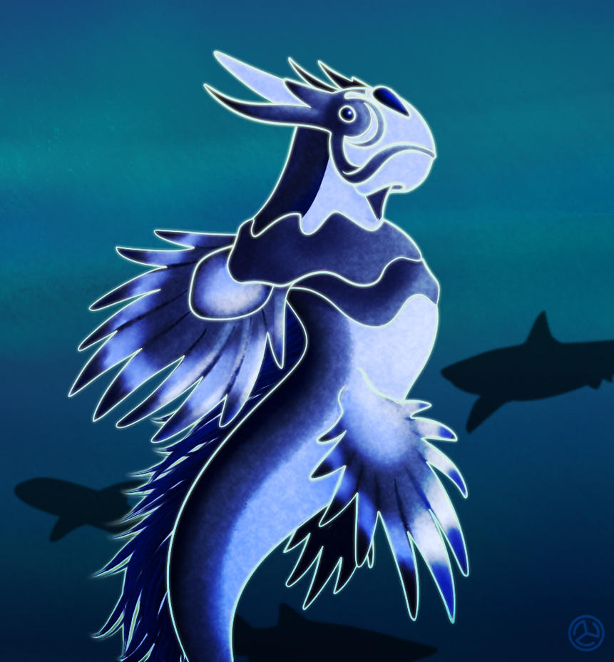 Lahja, the Sea Dragon by RoCueto