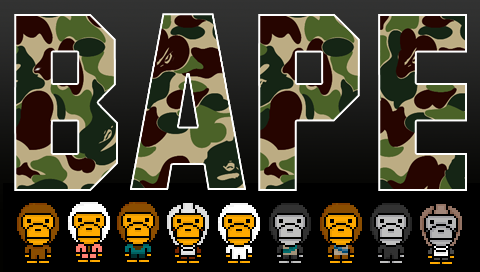 Bathing Ape Psp Wallpaper By S Deezy On Deviantart