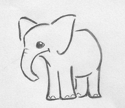 Elephant .:Tattoo mod:. by Fevr