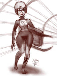 Women's Luge by anthonymata415