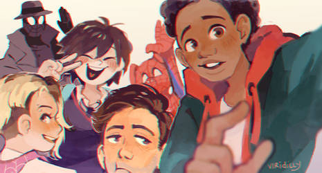 SPIDERVERSE by Viridilly