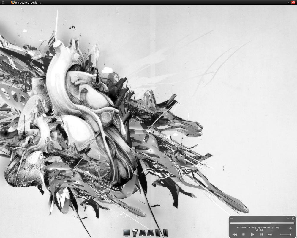 Desktop by nianguche
