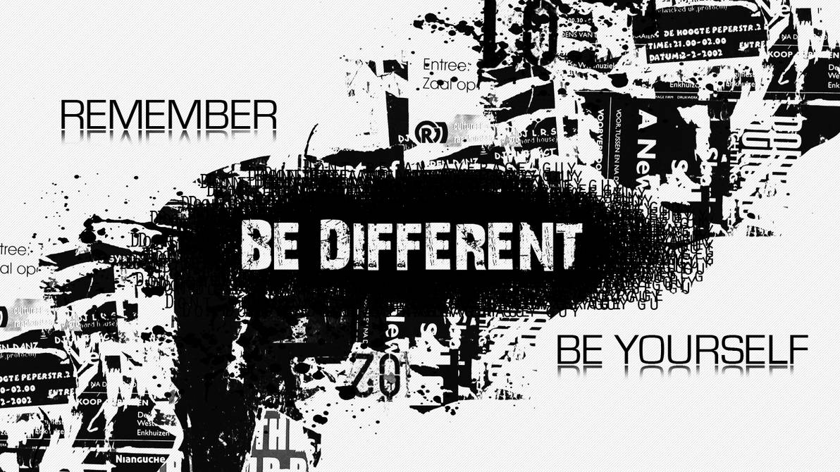 Be Yourself by nianguche
