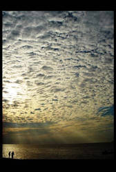 Antara kita dan langit by fullbrainofart