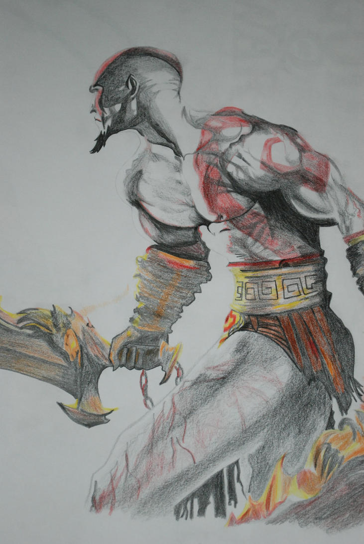 Kratos Sideview by urbiKasandra