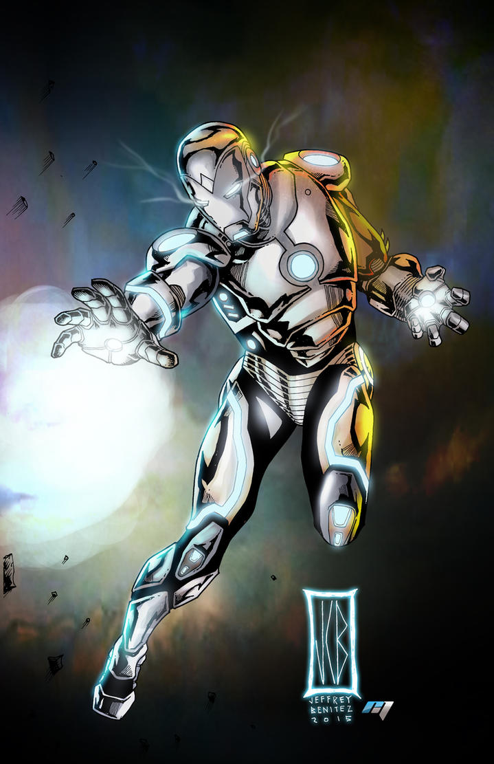 superior iron man by WOLVERINE76