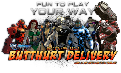 Butthurt Delivery DCUO