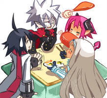 Disgaea 3: Get Together by WeirdCircus9