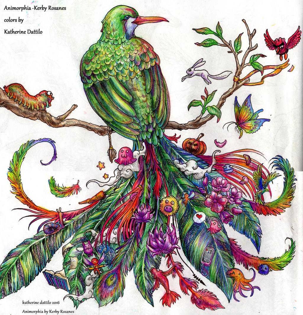 Animorphia Quetzal Bird By KatTheGrrreat On DeviantArt