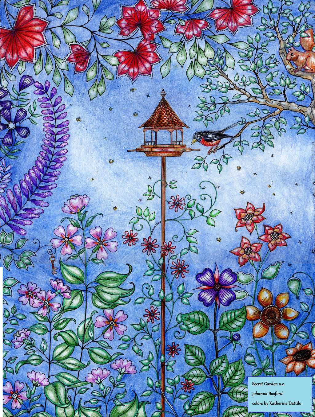 Secret Garden Artist Edition Birdfeeder By KatTheGrrreat