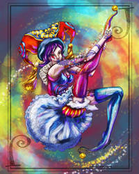 Jester Girl with Lisa Mitrokhin by KatTheGrrreat
