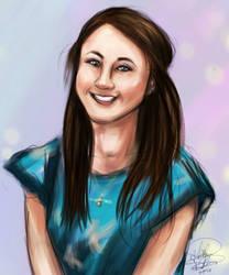 Johanna B painting by KatTheGrrreat