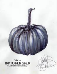 Inktober Day11 Pumpkin by KatTheGrrreat