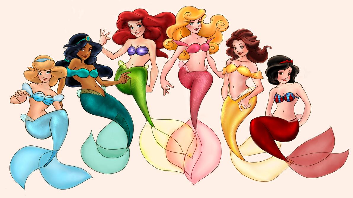 Loish's Mermaids -complete- by KatTheGrrreat