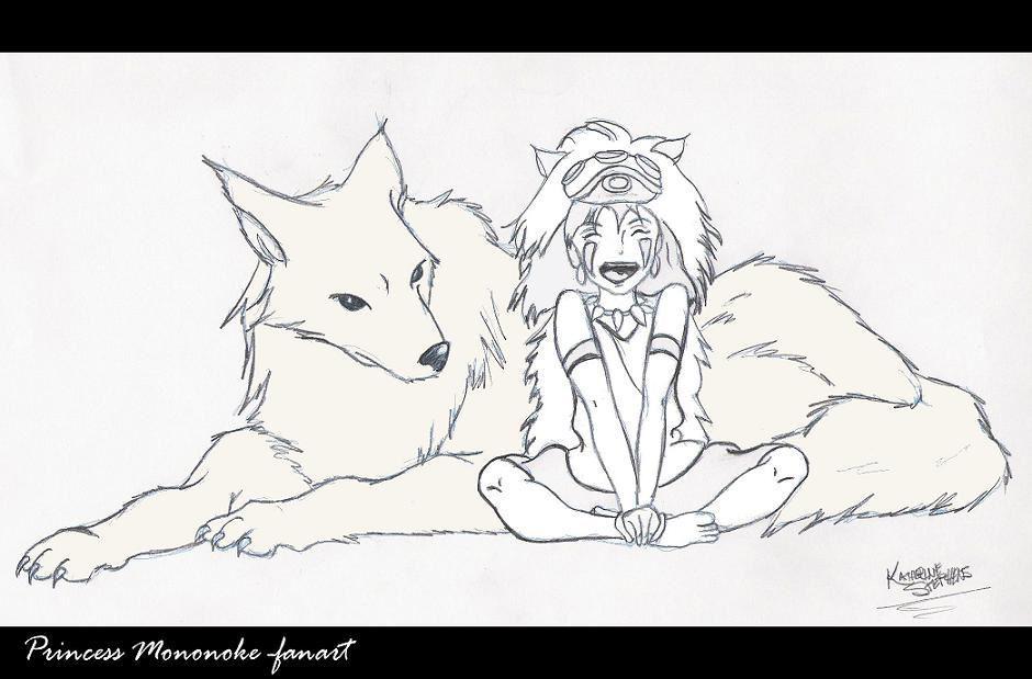 Princess Mononoke by KatTheGrrreat