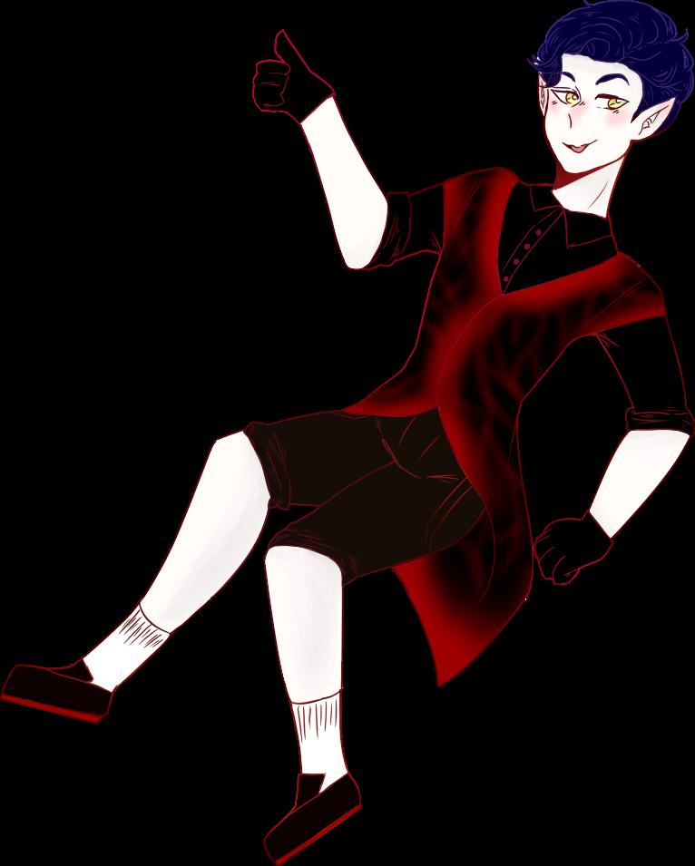 Vampire dude by Mr2ir