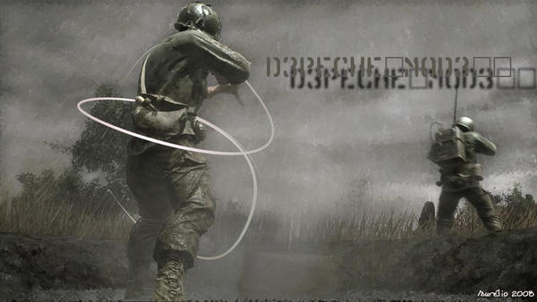 Depepeche Mode and COD by kimgage