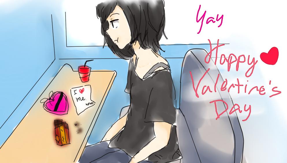 Valentine Loner Day by yuki-no-iru