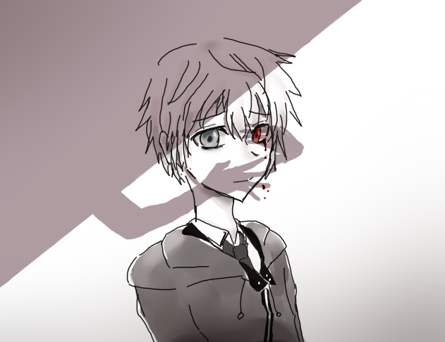 this doesn't look but it's kaneki by yuki-no-iru