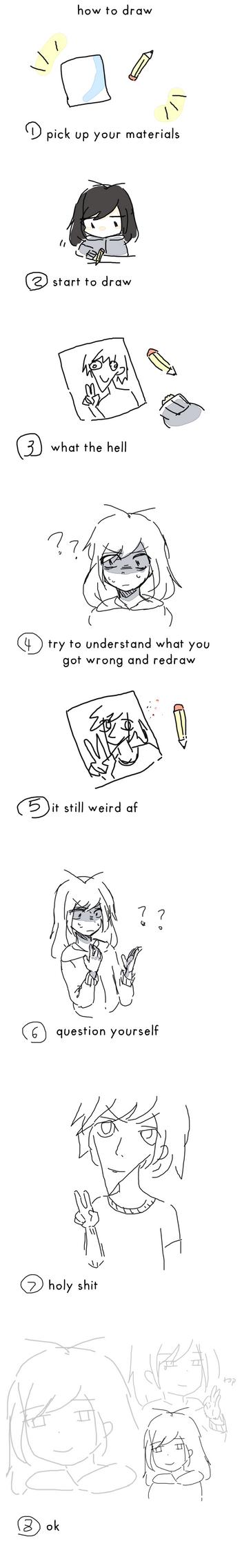 how to draw by yuki-no-iru