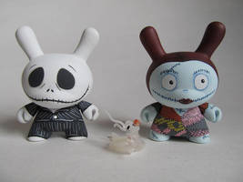 Jack and Sally Skellington dunnys by TOdesigns