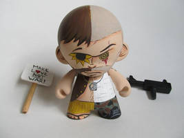 Peace and War munny by TOdesigns
