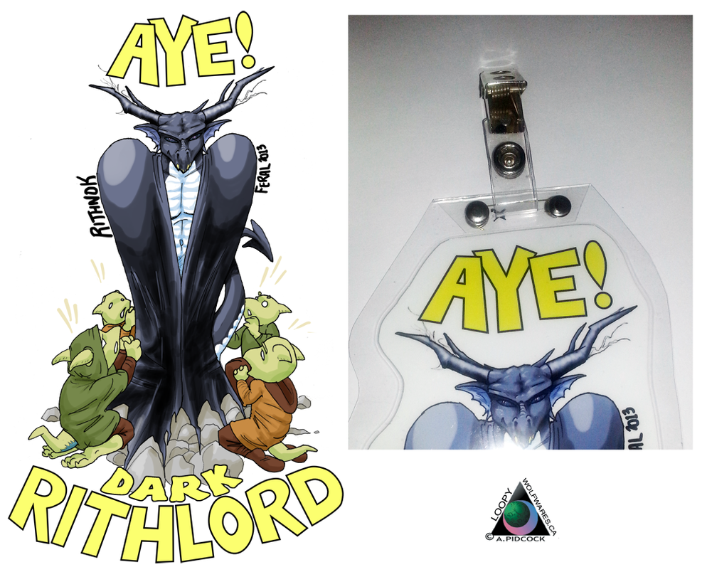 Rith Badge - Better Badge Clip by LoopyWolf