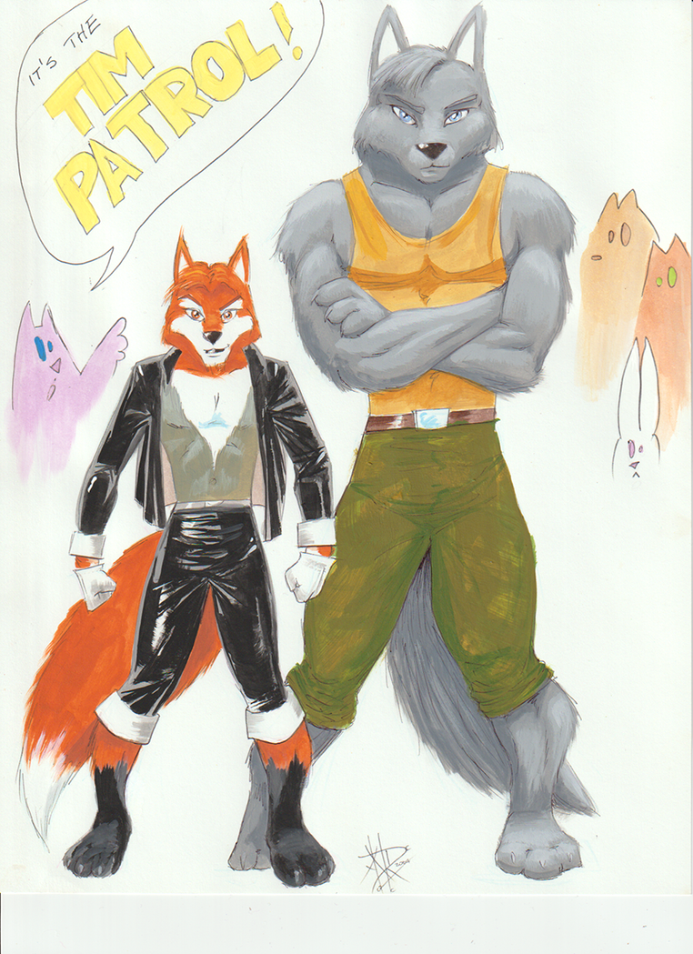 Tim Patrol by LoopyWolf