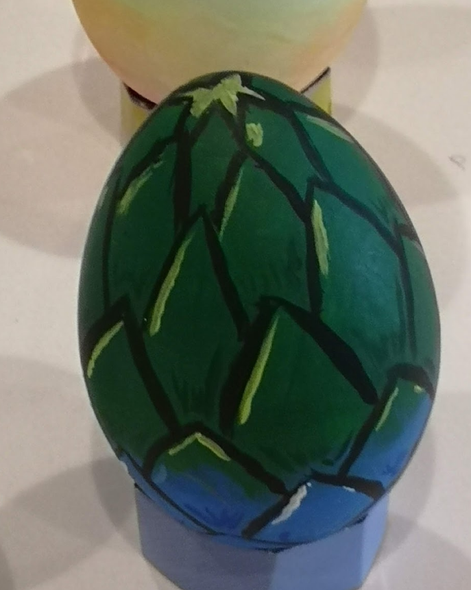 Painting Eggs for Easter by LoopyWolf