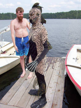 Formorian sighted in the lake