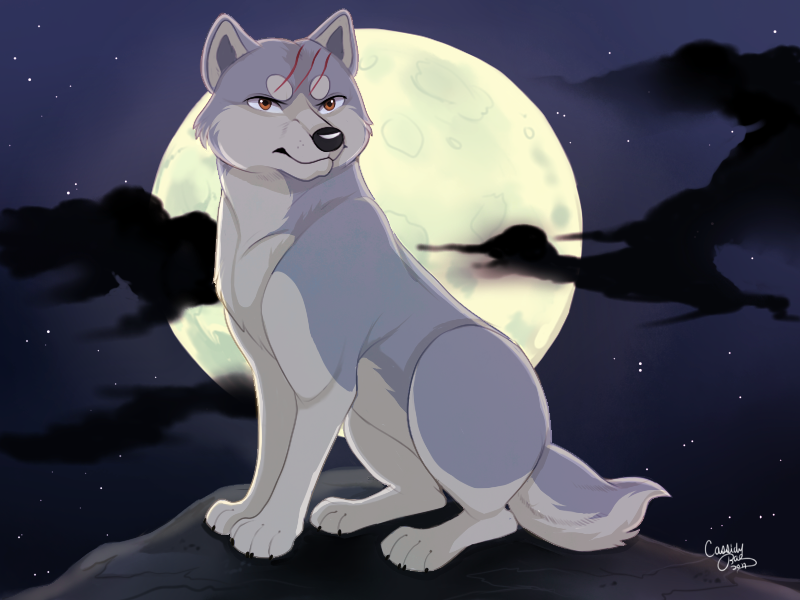 Silver Fang Legend by shibatooth